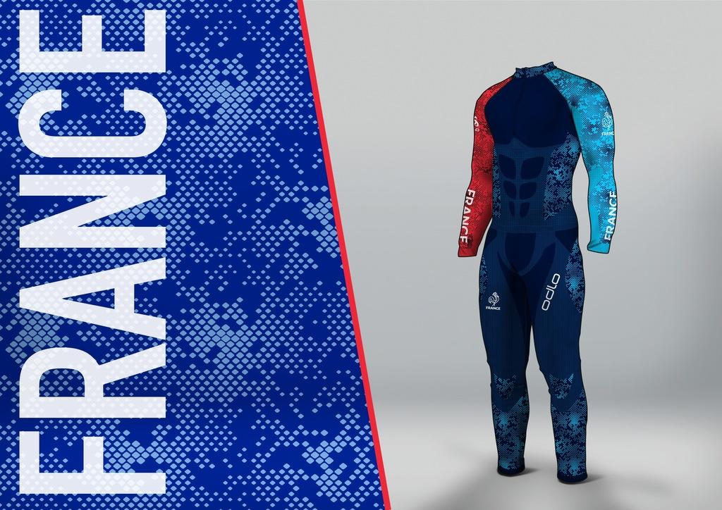 jo 2018 voici la nouvelle tenue des quipes de france ski. Black Bedroom Furniture Sets. Home Design Ideas